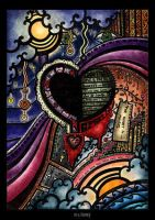 a part of the heart is missing by PsychedelicTreasures