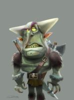 Angry Orc by Gilmec
