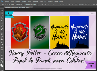 Smartphone Wallpapers - Harry Potter by dalilasweetbaby