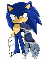 Sonic From Shared Metal Limbs by sonicxjones