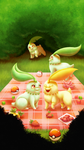 Chikorita Community Day by ailaghast