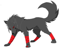 Salem The Red Lantern  Hound by imyouknowwho