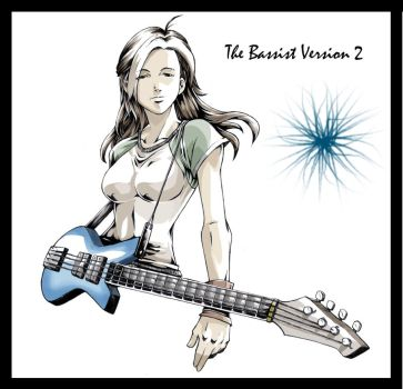 The Bassist ver. 2 - colored by irving-zero
