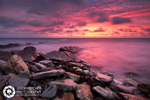 Stormy Dawn at Peveril Point by Neutron2K