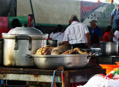 Breakfast at the Market by dolma33