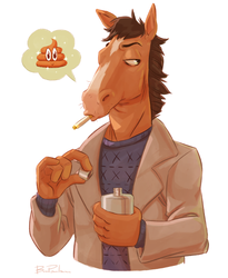 That Horse Guy by breebird
