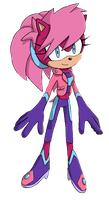 Sonia the Hedgehog re-redesign by mlpandsthfan11315