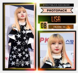 Lisa #6 (Black Pink) |PHOTOPACK| by WithoutTheLove-Music