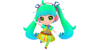 MMD - Project Mirai - Shake It Miku + DL (Update) by luiz7429