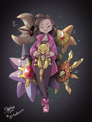 Pokemon - Gym Leader Sona by 7-Days-Luck