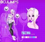 [CLOSED] Adoptable Oculimp #1: Makenna by MMXII