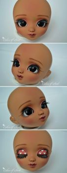 Face-Up Tan Pullip Mio Kit by prettyinplastic