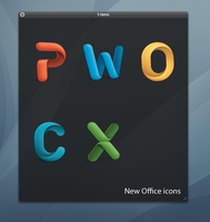 Office 2011 icons by wooko