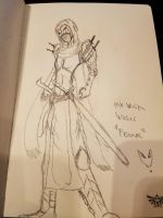 Pale Wraith Wiccer (concept sketch) by Herokip98