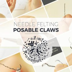 [DIY] NF - Posable Claw by ZimtBeadwork