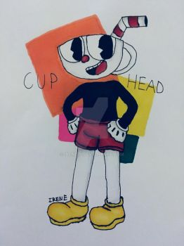 Just cuphead by Irene-P