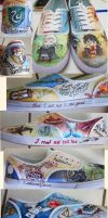 Harry Potter Shoes by feavre