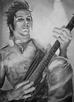 Synyster Gates by lisasuriani