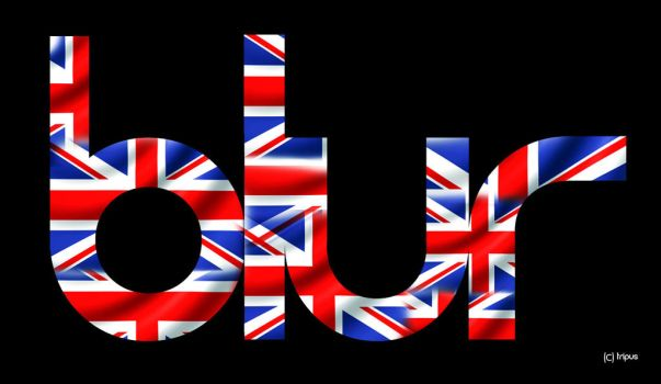 UK Blur logo by tripus