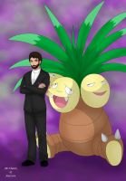 FalX28 With Exeggutor by AusLove