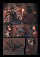 Night Wolf Comic Book Issue #1 Page 13 Colors by RAM-Horn