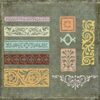 Ornament Borders No. 8 by starsunflowerstudio