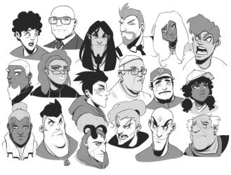 Faces 6 by BrotherBaston
