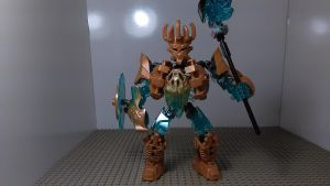 [Bionicle MOC] Ekimu Okotos Defender by sideshowOfMadness