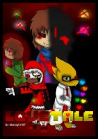 LOVETale Comic Cover by Midnight197