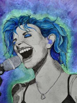 Hayley Williams of Paramore by GretchElise