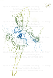 SKETCH - Spark - Full Body by TrainerKelly