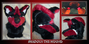 Hound Head (Sold) by TearsOfFallenAngels