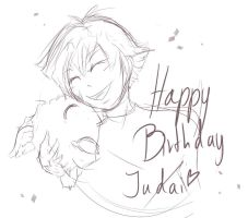 ygo gx: happy birthday judai! by Algolagnie