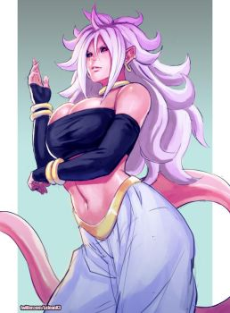 Android 21 by kasai
