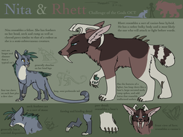 COTG - Nita and Rhett ref by katribou