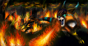 Drace Burns It Down by Jusury