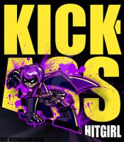 Kick-ass : Hit-girl by KatCardy