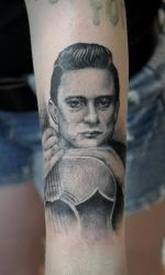 Johnny Cash by tainted-orchid