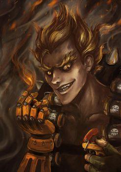 Junkrat by The-demons-heart