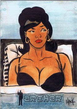 Archer Sketchcard 09 by RobertHack