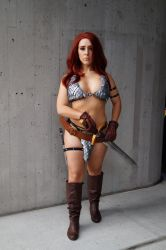 NYCC17 Red Sonja by zer0guard
