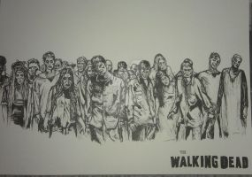 The Walking Dead by buntUNDkreativ