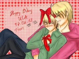 happy B'day United States of America by snagsephy