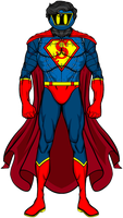 Mainstream Redesign: SuperMan by Amanacer-Fiend0