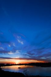 lagoon sunset 2 by doverby