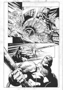 X-Men Gold #15 Page 05 Inks by JPMayer