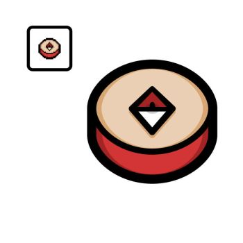 Vectorized Isaac #58: The Compass by giftedscholar