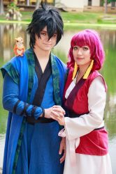 Yona, Hak, Ao [Akatsuki no Yona Cosplay] by firecloak