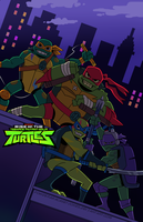 Rise Of The TMNT by PowderAkaCaseyJones
