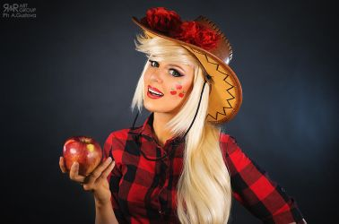 Applejack Cosplay Test by Rei-Doll